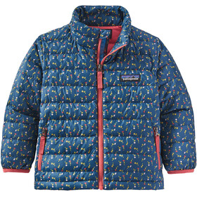 Patagonia Chaqueta Suéter Plumas Niños, slow dance/crater blue